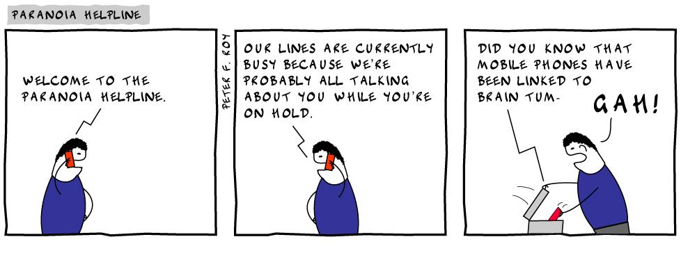 Paranoia Helpline